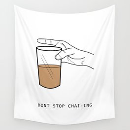 Chai Lover Wall Tapestry