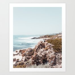 The Coast Art Print