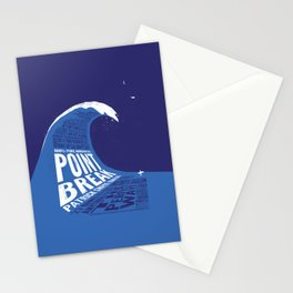 Point Break Stationery Cards
