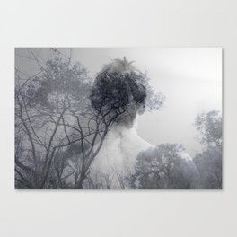 Clothed in Nature Canvas Print