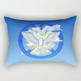 Dove Of Peace Rectangular Pillow
