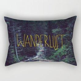 Wanderlust: Rainier Creek Rectangular Pillow