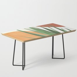 Abstract Agave Plant Coffee Table