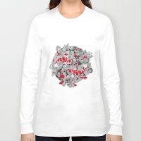 koi fish Long Sleeve T-shirts featuring Koi Fish by Studio Su