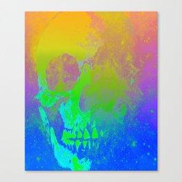 Skull/Star II Canvas Print