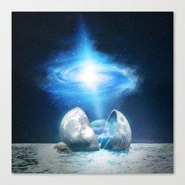 The Universe birth Canvas Print