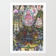 jellygirl Art Print