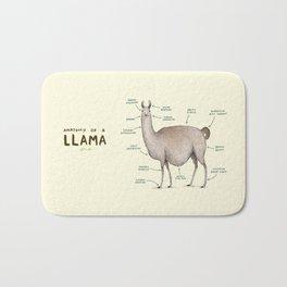 Anatomy of a Llama Bath Mat