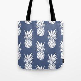 Pineapple Blues Tote Bag
