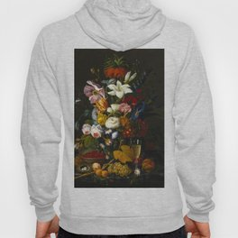 Victorian Bouquet by Severin Roesen Hoody