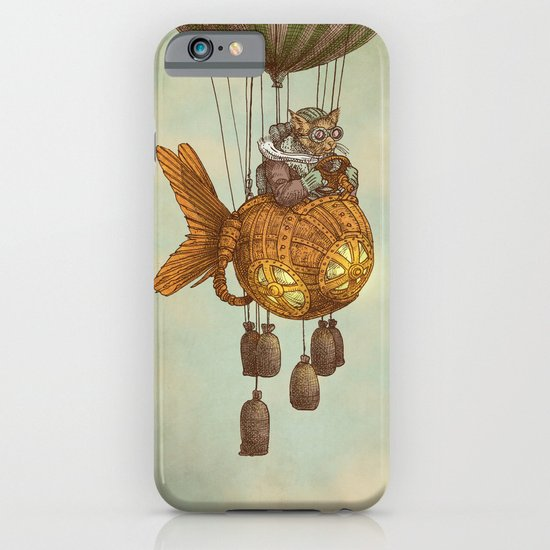 Around the World in the Goldfish Flyer iPhone & iPod Case