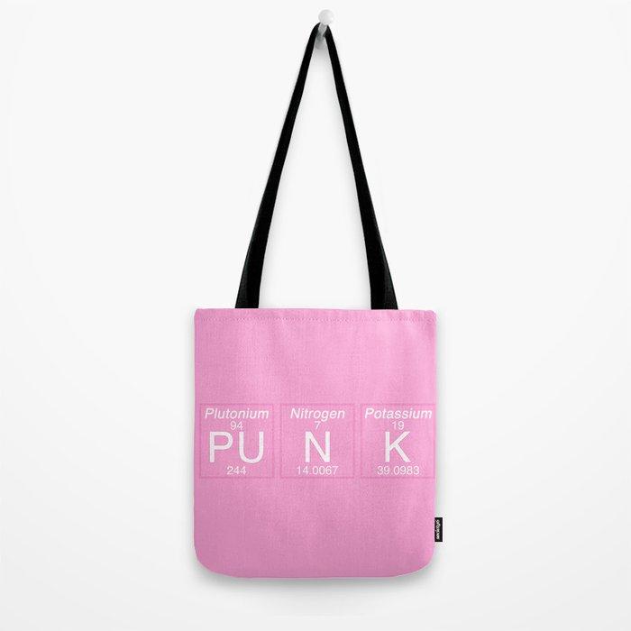 Periodic Punk Tote Bag