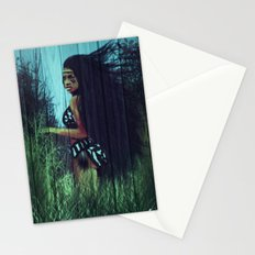 Running With Mother Earth  Stationery Cards