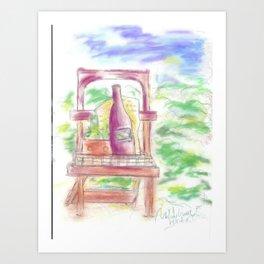 Painting - Gardening Art Print
