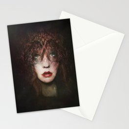 The fragile Queen Stationery Cards