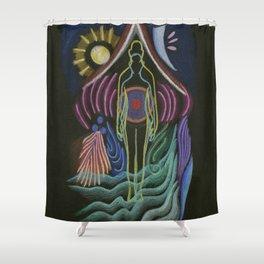 Collaboration Shower Curtain