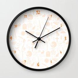 Buffy Symbology, Orange Wall Clock