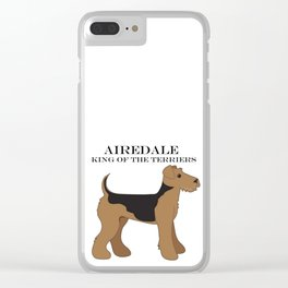 Airedale Clear iPhone Case