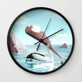 Deadline - Julien Tabet - Photoshop Artwork Wall Clock