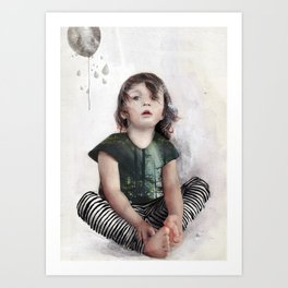 """The balloon"" Art Print"