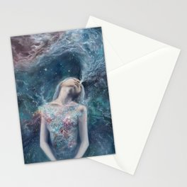 Love Will Split You Open Into Light Stationery Cards