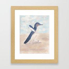 Fairy Penguin Framed Art Print