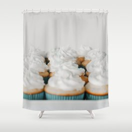 Beautiful Food by Dylan Ferreira Shower Curtain