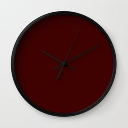 Cello Admiration ~ Mahogany Wall Clock