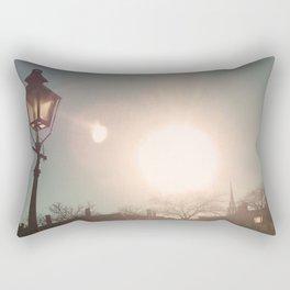 The Sun Stays the Same Rectangular Pillow
