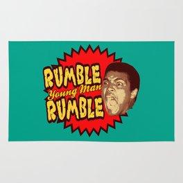 Rumble Young Man Rumble     Ali Rug