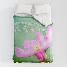 Go With Your Heart Comforters