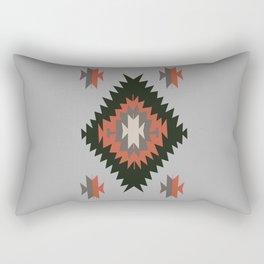New Mexico Southwest Santa Fe Tribal Indian Pattern Rectangular Pillow