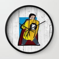 dungeons and dragons Wall Clocks featuring DUNGEONS & DRAGONS - ERIC by Zorio