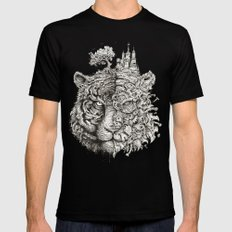 Equilibrium MEDIUM Black Mens Fitted Tee