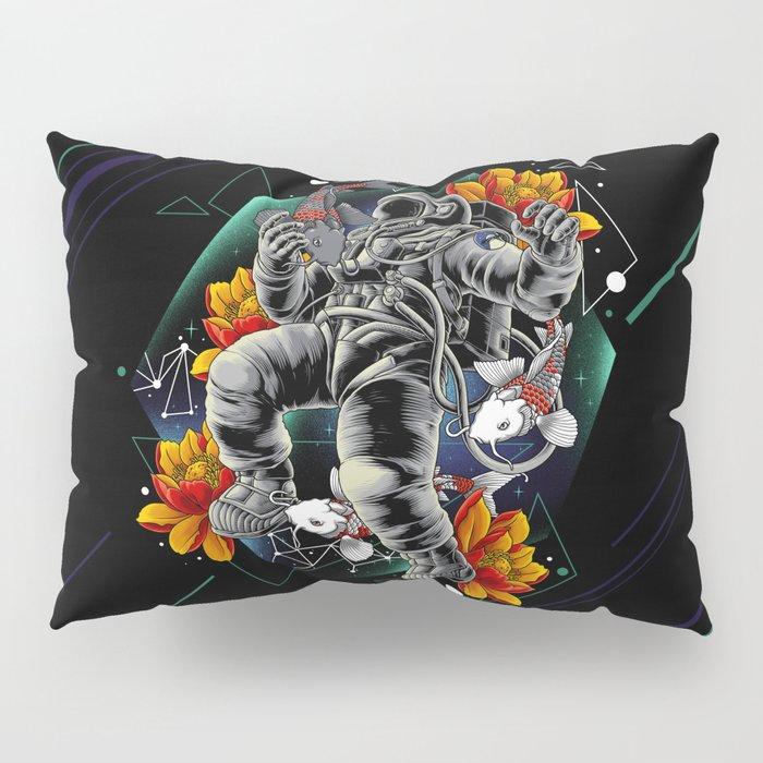 Lucky Spaceman Pillow Sham