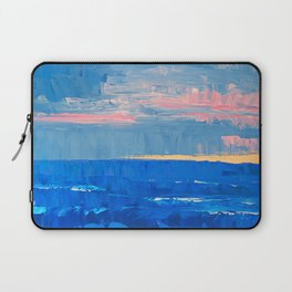 Golden Sand Seascape Laptop Sleeve