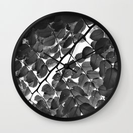 Nobody's Perfect Monochrome Wall Clock