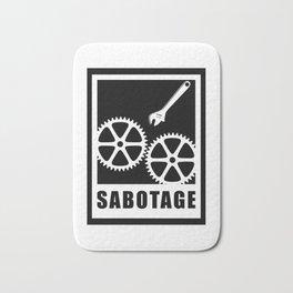 Sabotage Bath Mat