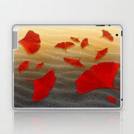 Red Ginko Laptop & iPad Skin