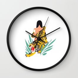 Waking the tiger Wall Clock