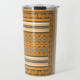 Maldivian Traditional Mat Travel Mug