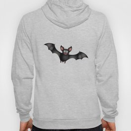 cartoon bat Hoody