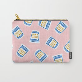 New York Deli Coffee Pattern Carry-All Pouch