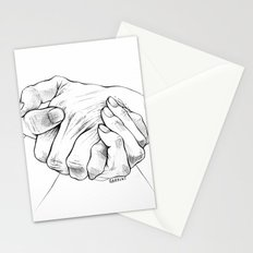 Untitled Hands No. 16 Stationery Cards