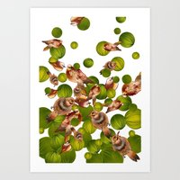 """Pajaritos' Art Print"
