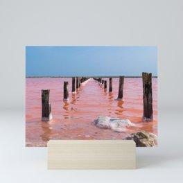 Pink Sea II Mini Art Print