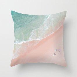 Surf Yoga II Throw Pillow