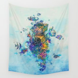 The Diver Wall Tapestry