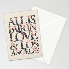ALL IS FAIR Stationery Cards