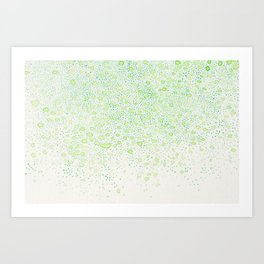 flavor of young leaves Art Print